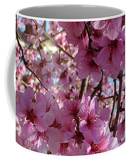 Coffee Mug featuring the photograph Blossoms by Lydia Holly
