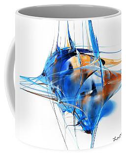 Blue Abstraction Coffee Mug