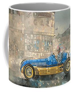 Blue And Yellow Maserati Of Bira  Coffee Mug