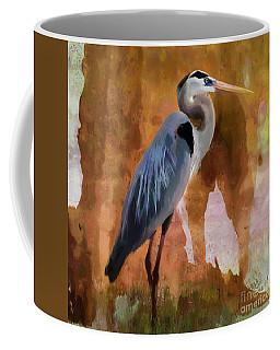 Blue Coffee Mug by Betty LaRue