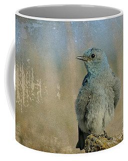Blue Bird Coffee Mug by Teresa Zieba