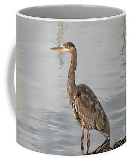 Blue Heron Wading Coffee Mug