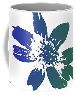 Coffee Mug featuring the photograph Blue In Bloom by Lauren Radke