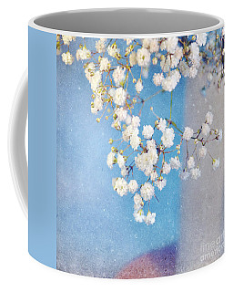 Blue Morning Coffee Mug by Lyn Randle