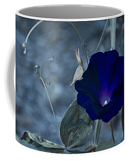 Blue Petunia 2 Coffee Mug