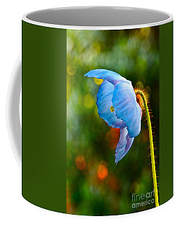 Blue Poppy Dreams Coffee Mug by Byron Varvarigos