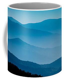 Blue Ridges Panoramic Coffee Mug