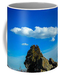 Coffee Mug featuring the photograph Blue Skies by Shannon Harrington