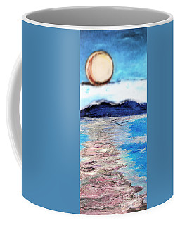 Blue Sunrise Rendered Coffee Mug