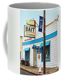 Bobs Bait Shop In Isleton California . The Master Baiter Coffee Mug