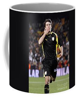 Bojan Krkic Celebrating A Goal 2 Coffee Mug