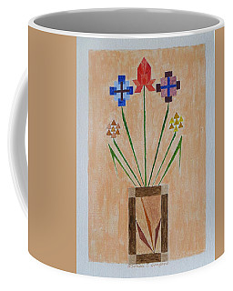 Coffee Mug featuring the painting Bouquet by Sonali Gangane