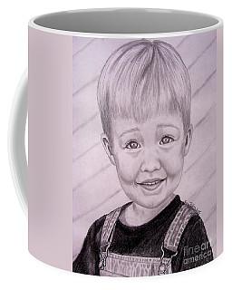 Coffee Mug featuring the drawing Brady by Julie Brugh Riffey