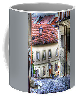 Bratislava. As The City Sleeps Coffee Mug