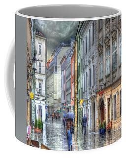 Bratislava Rainy Day In Old Town Coffee Mug