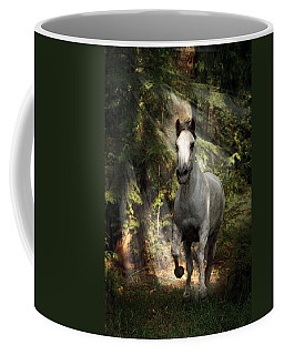 Breaking Dawn Gallop Coffee Mug by Wes and Dotty Weber