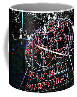 Breaux Bridge Crawfish Festival Coffee Mug