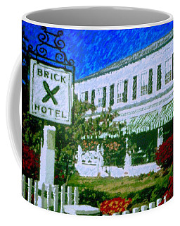 Brick Hotel Coffee Mug