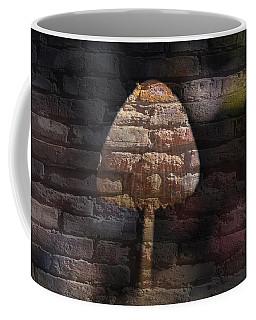 Brick Mushroom Coffee Mug by Eric Liller