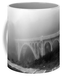 Bridge In Fog Coffee Mug