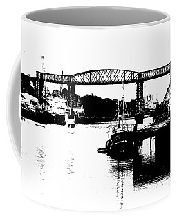 Coffee Mug featuring the photograph Bridge On The Boyne by Charlie and Norma Brock