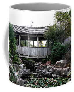Coffee Mug featuring the photograph Bridge Over Water by Elizabeth Winter