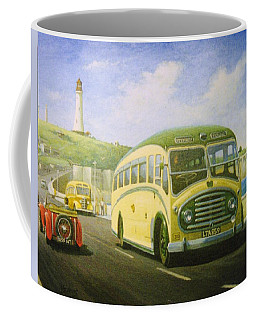 Bristol L On Plymouth Hoe Coffee Mug by Mike  Jeffries
