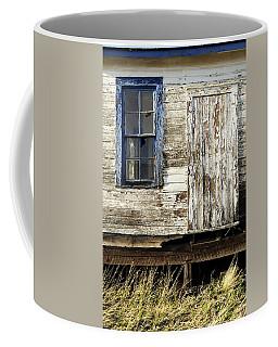 Coffee Mug featuring the photograph Broken Window by Fran Riley