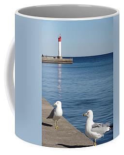 Bronte Lighthouse Gulls Coffee Mug