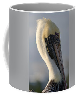 Brown Pelican Profile Coffee Mug