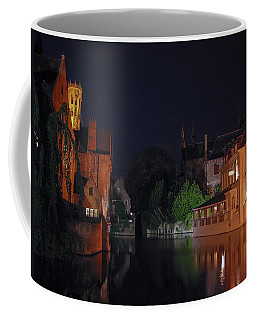 Coffee Mug featuring the photograph Bruges by David Gleeson