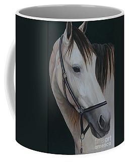 Buck Skin Horse Portrait Coffee Mug