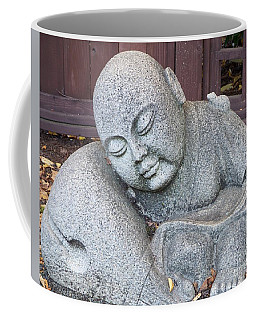 Coffee Mug featuring the photograph Buddha by Chalet Roome-Rigdon