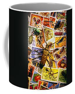 Bugs On Postage Stamps Coffee Mug