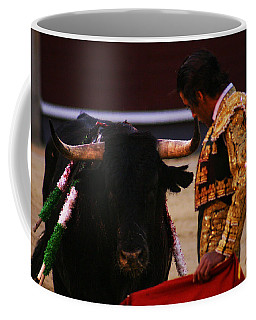 Bullfight Madrid Coffee Mug