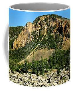 Coffee Mug featuring the photograph Bunsen Peak by Greg Norrell