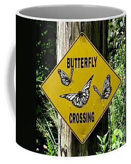 Butterfly Crossing Coffee Mug
