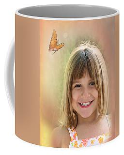 Butterfly Smile Coffee Mug
