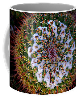 Cactus Radiance Coffee Mug by Vicki Pelham