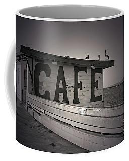 Cafe On The Pier Coffee Mug