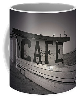 Cafe On The Pier Coffee Mug