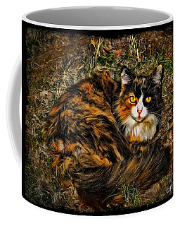Calico Cat Coffee Mug