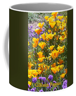 Coffee Mug featuring the photograph California Poppies by Carla Parris