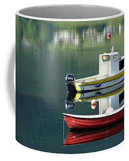 Coffee Mug featuring the photograph Calm Waters by Lynn Bolt