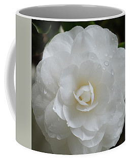 Camellia After Rain Storm Coffee Mug