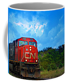Canadian Northern Railway Train Coffee Mug