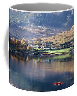Coffee Mug featuring the photograph Canoeing On Loch Goil by Lynn Bolt