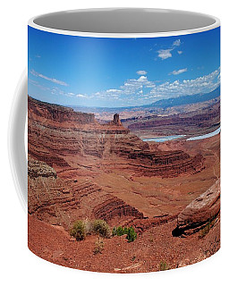 Coffee Mug featuring the photograph Canyonlands by Dany Lison