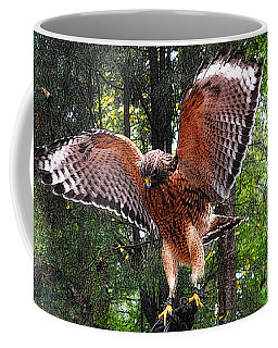 Coffee Mug featuring the photograph Captivity by Lydia Holly