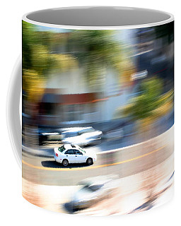 Car In Motion Coffee Mug
